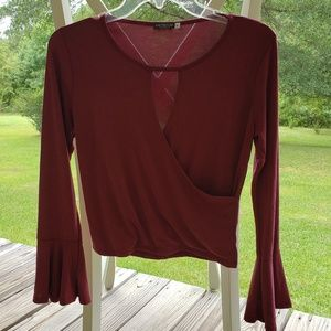 EarthBound Flowy Blouse